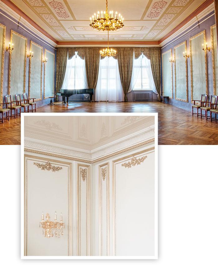 Dekorationsmalerei die Königsdisziplin der Malerei von Michael von Weyhe